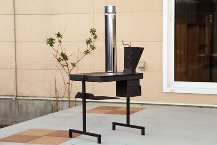 コロ ペレットコンロ屋外用調理器