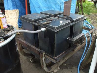 木質バイオマスガス発生装置