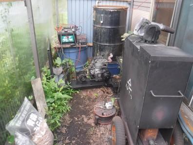 木質バイオマスガス化給湯発電