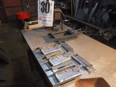薪ストーブの扉作り